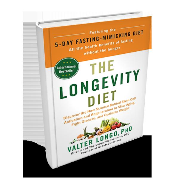 the longevity diet food list longo